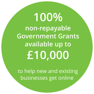 100% non-repayable Government Grants available up to £10,000